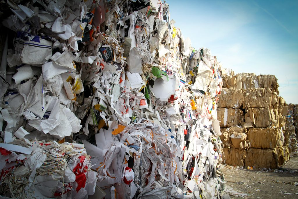 compacted waste