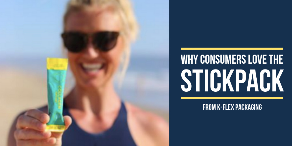 lady holding stickpack at beach