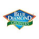 Blue Diamond Growers Logo Packaging