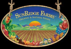 Sun Ridge Farms Organic & Natural Foods Sign