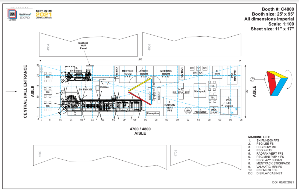 expo booth layout
