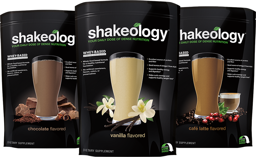 Powder Packaging - Stand-Up Pouch - Triple Shakeology